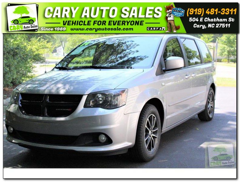 2014 DODGE GRAND CARAVAN SXT 30th anniversary for sale by dealer