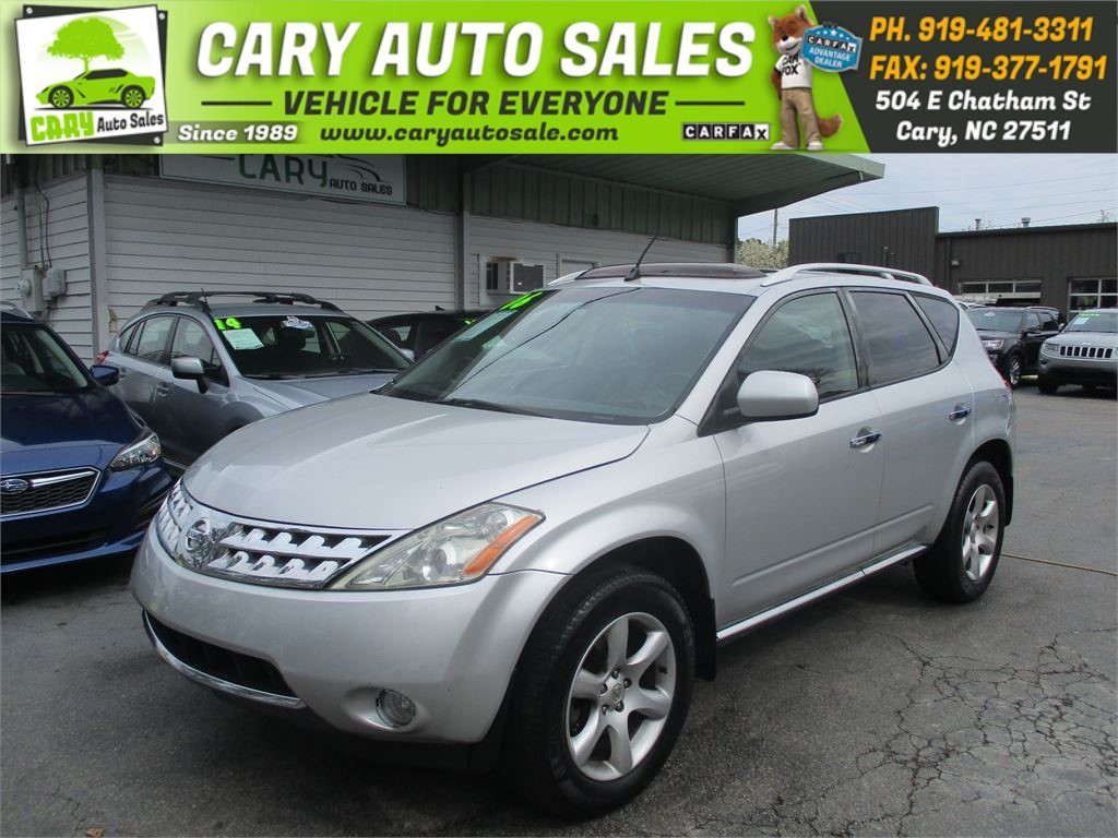 2006 NISSAN MURANO SE for sale by dealer