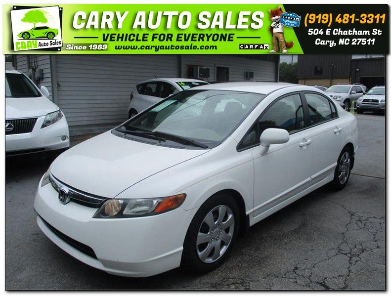 2007 HONDA CIVIC LX for sale by dealer