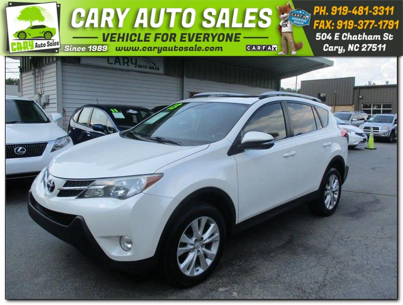 2013 TOYOTA RAV4 LIMITED for sale by dealer