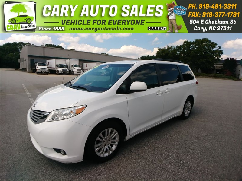 2014 TOYOTA SIENNA XLE 8 Passenger for sale by dealer