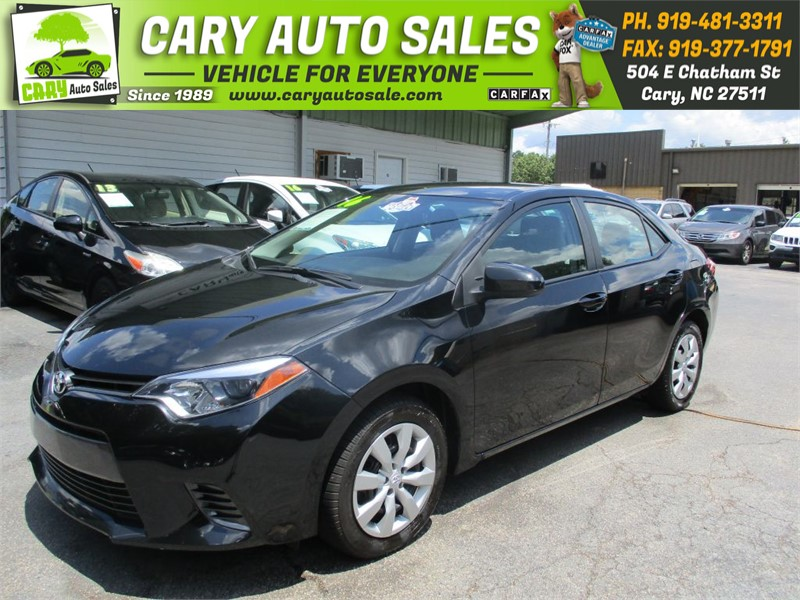 2016 TOYOTA COROLLA LE for sale by dealer