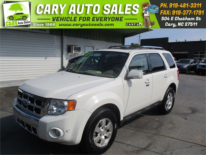 2011 FORD ESCAPE LIMITED for sale by dealer