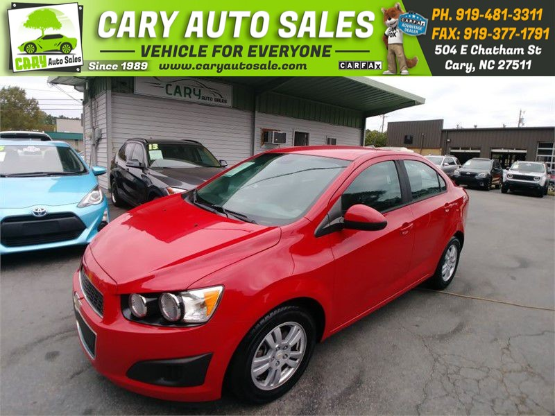 2012 CHEVROLET SONIC LS for sale by dealer