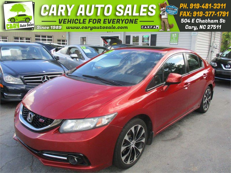 2013 HONDA CIVIC SI for sale by dealer