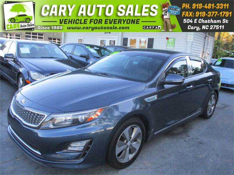2014 KIA OPTIMA EX HYBRID for sale by dealer