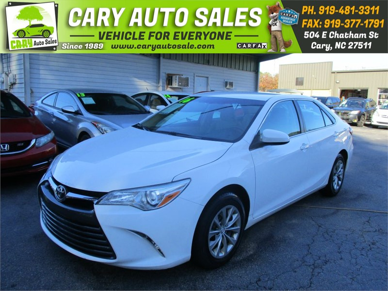 2016 TOYOTA CAMRY LE for sale by dealer