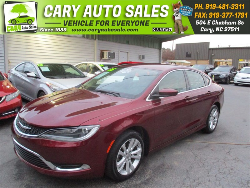 2016 CHRYSLER 200 LIMITED for sale by dealer
