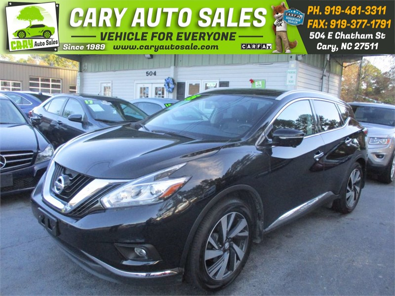 2015 NISSAN MURANO PLATINUM for sale by dealer