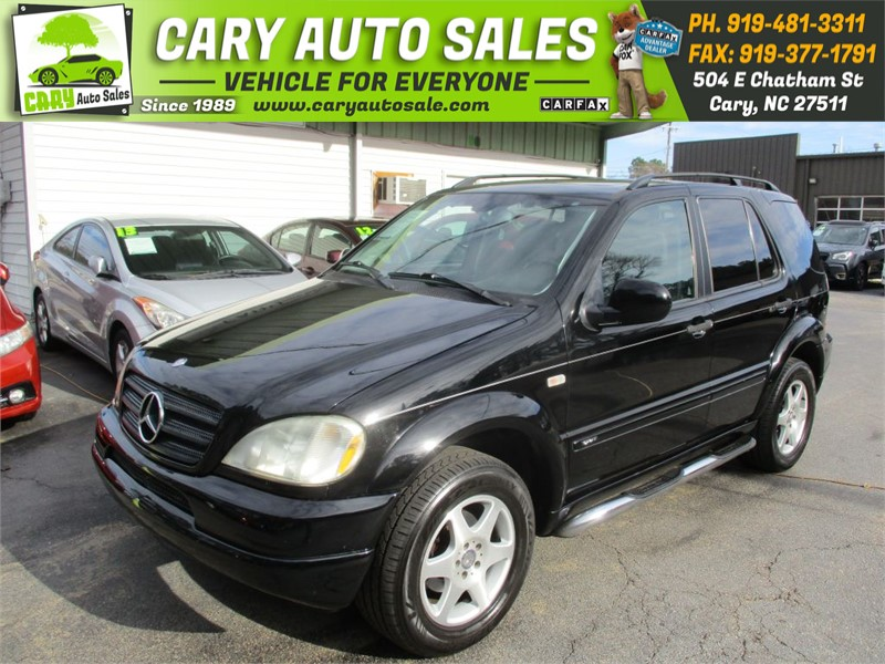 2001 MERCEDES-BENZ M ML320 for sale by dealer