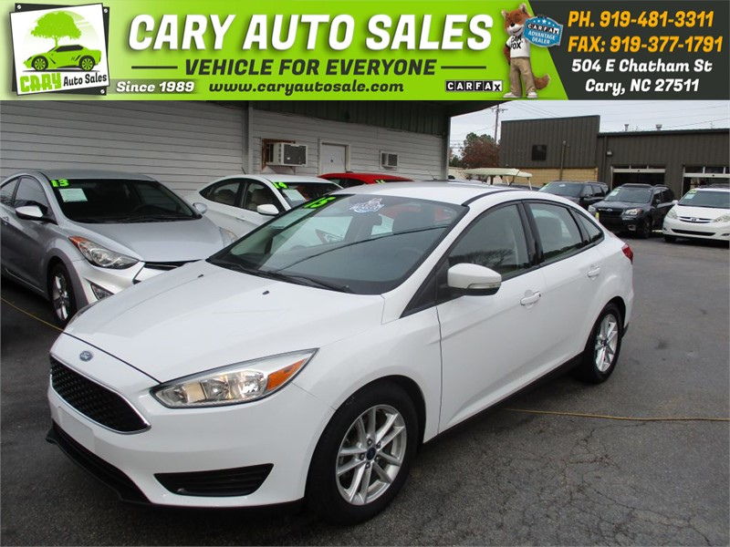2015 FORD FOCUS SE for sale by dealer