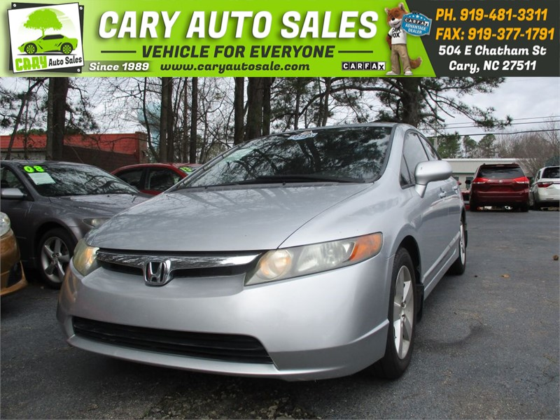 2007 HONDA CIVIC EX for sale by dealer