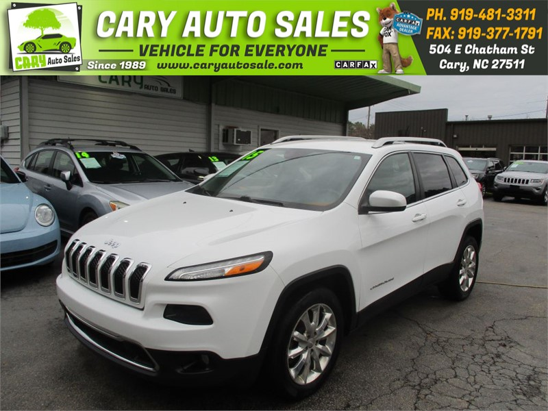 2015 JEEP CHEROKEE LIMITED for sale by dealer