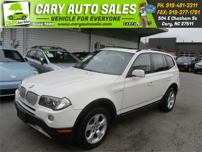 2007 BMW X3 3.0SI for sale by dealer