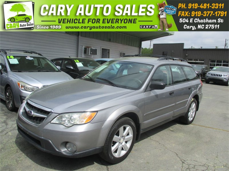 2008 SUBARU OUTBACK 2.5I for sale by dealer