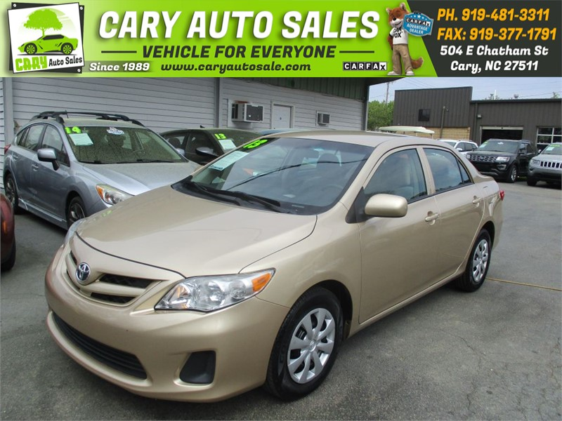 2013 TOYOTA COROLLA LE for sale by dealer