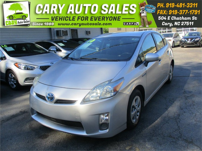 2010 TOYOTA PRIUS for sale by dealer