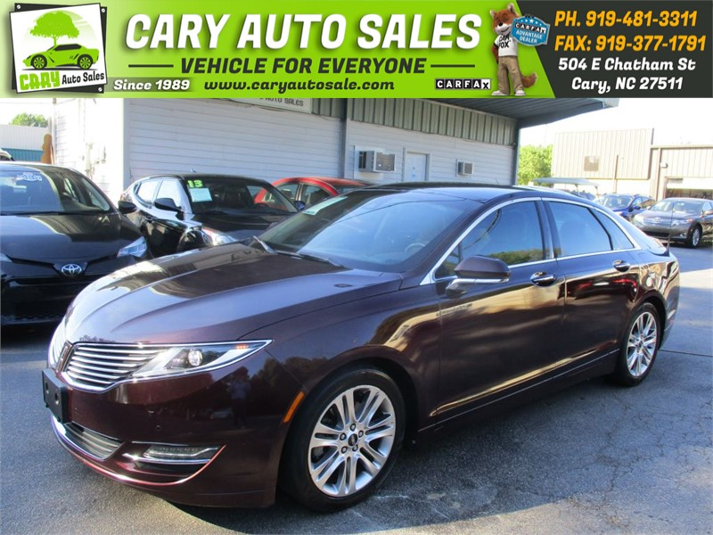 2013 LINCOLN MKZ ECOBOOST TURBO for sale by dealer