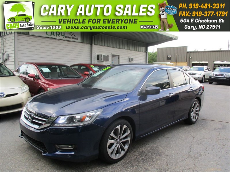 2013 HONDA ACCORD SPORT for sale by dealer