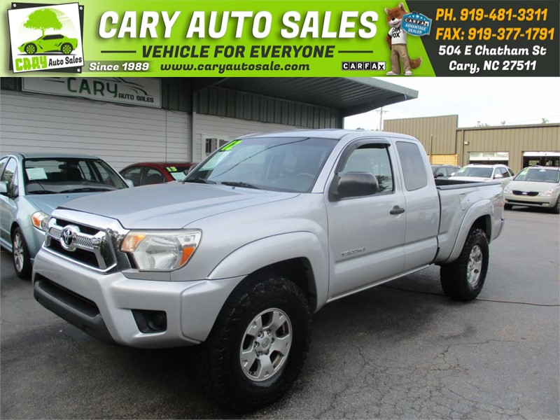 2012 TOYOTA TACOMA ACCESS CAB for sale by dealer