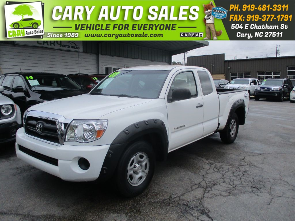 2007 TOYOTA TACOMA ACCESS CAB for sale by dealer
