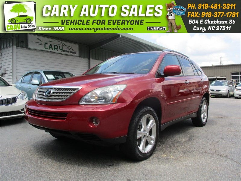 2008 LEXUS RX 400H for sale by dealer