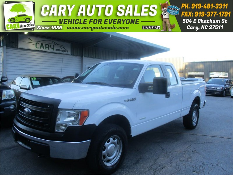 2014 FORD F150 SUPER CAB XL 4WD for sale by dealer