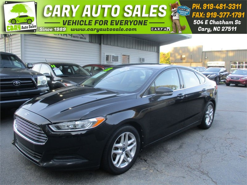 2013 FORD FUSION SE for sale by dealer