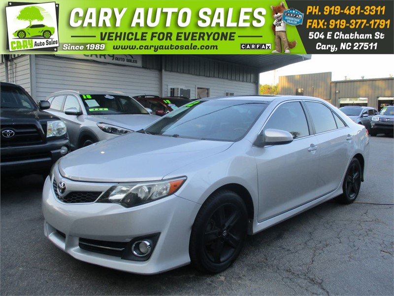 2012 TOYOTA CAMRY SE for sale by dealer