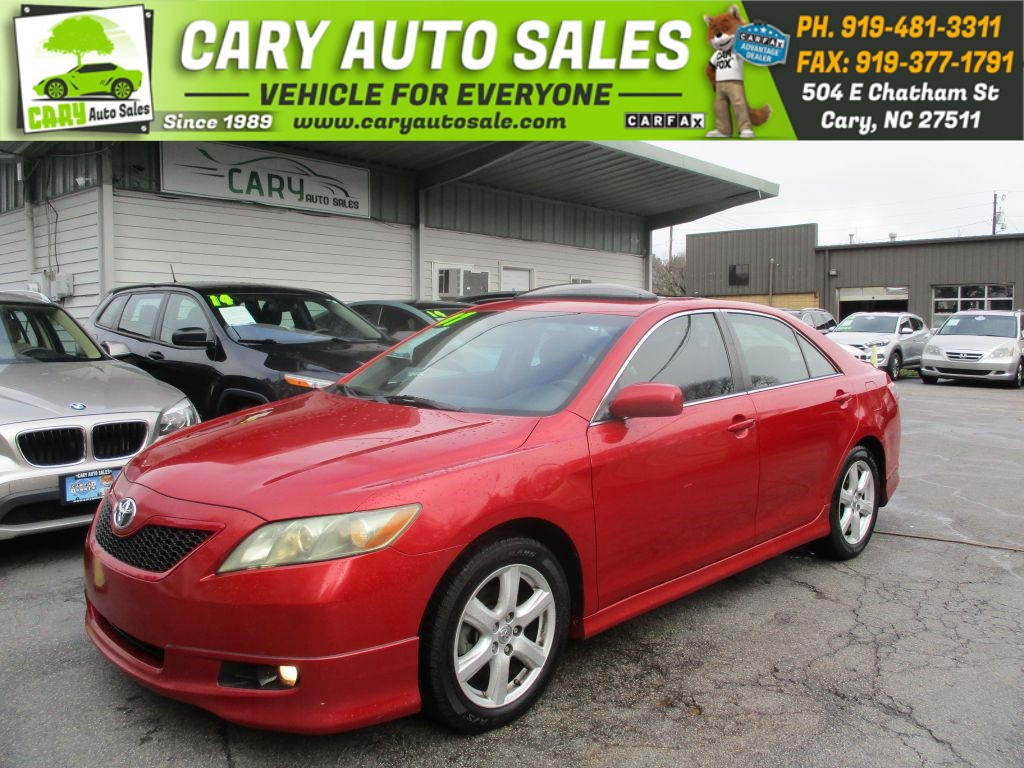 2007 TOYOTA CAMRY SE for sale by dealer