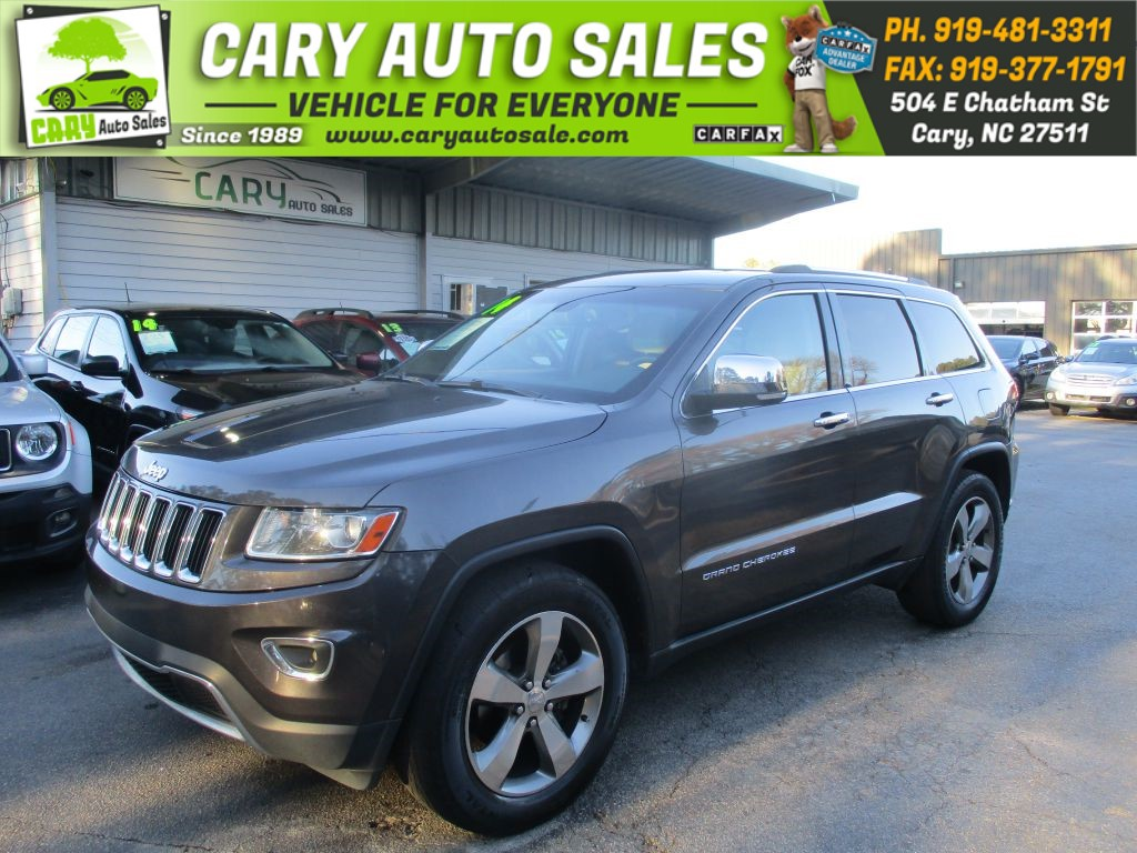 2014 JEEP GRAND CHEROKEE LIMITED 4WD for sale by dealer