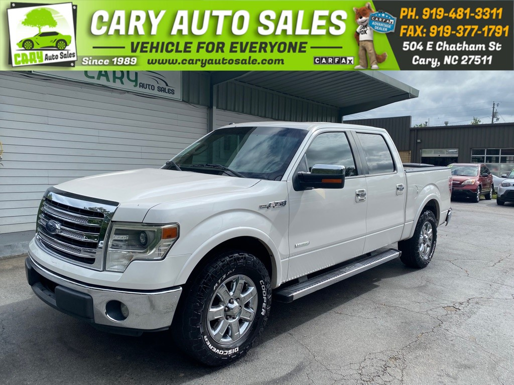 2013 FORD F150 SUPERCREW Lariat for sale by dealer