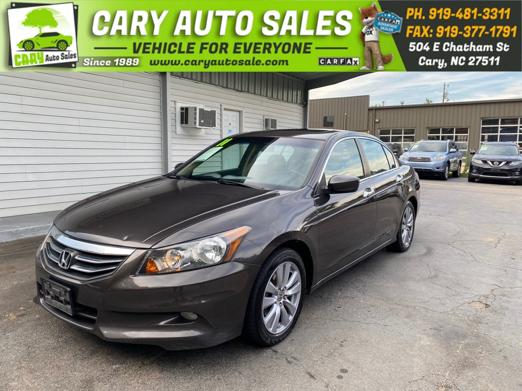 2011 HONDA ACCORD EXL for sale by dealer