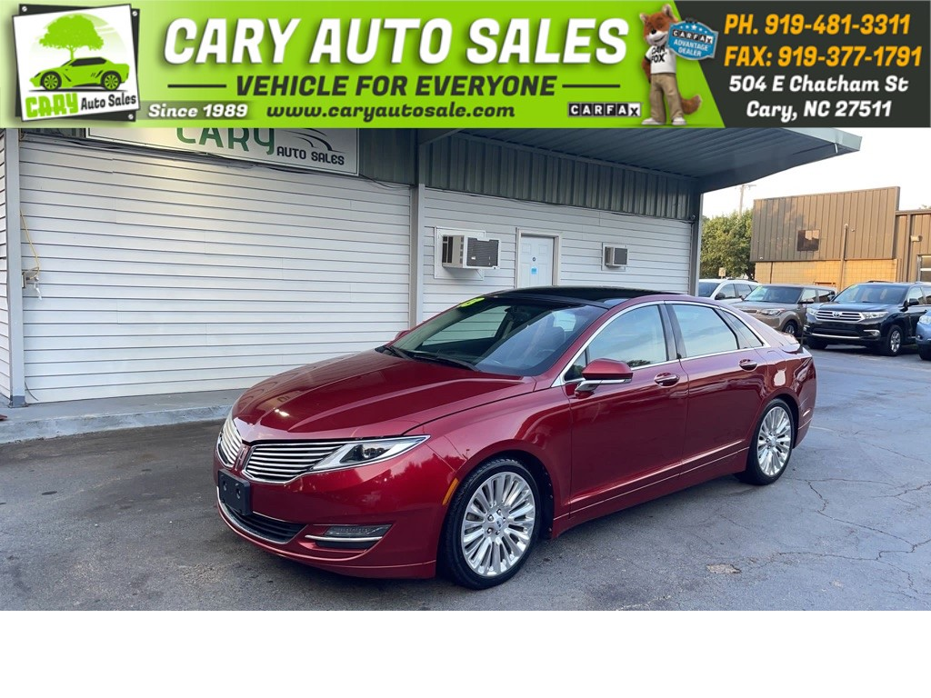 2013 LINCOLN MKZ Ecoboost for sale by dealer