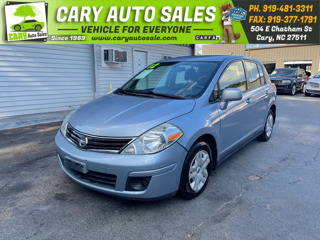 2012 NISSAN VERSA HP AUTO S for sale by dealer