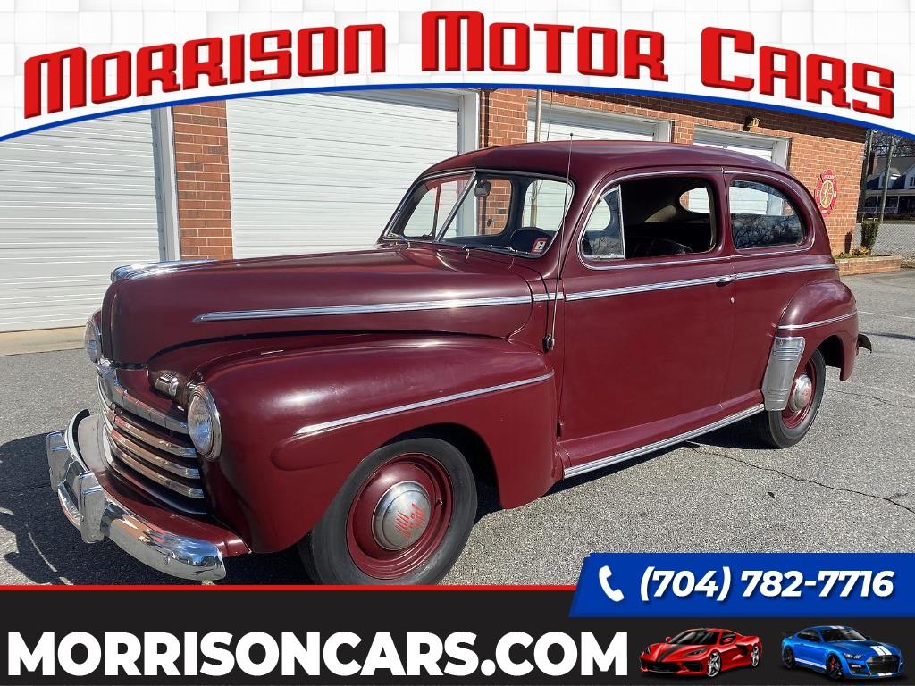 1946 Ford Tudor Sedan Deluxe for sale by dealer