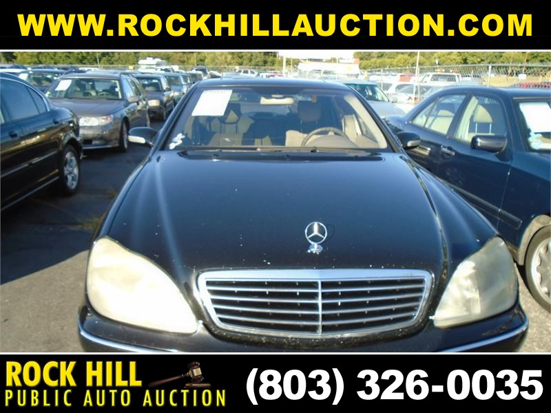 2000 MERCEDES-BENZ S500 for sale by dealer