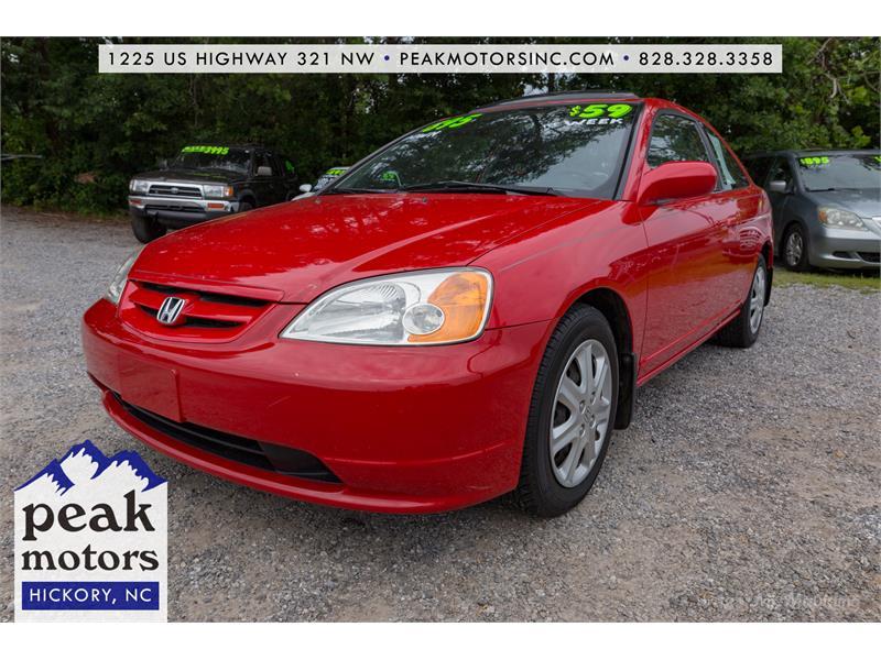 2002 Honda Civic EX Hickory NC