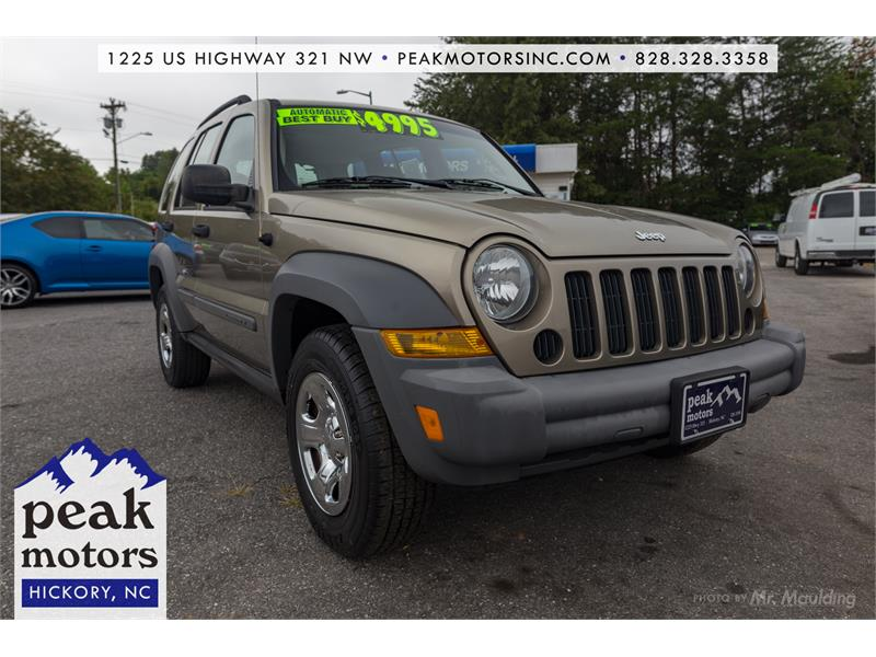 2006 Jeep Liberty Sport Hickory NC