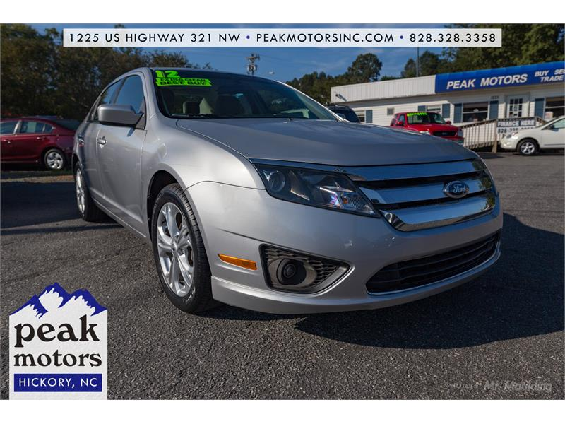 Ford Fusion Colors >> 2012 Ford Fusion Se In Hickory