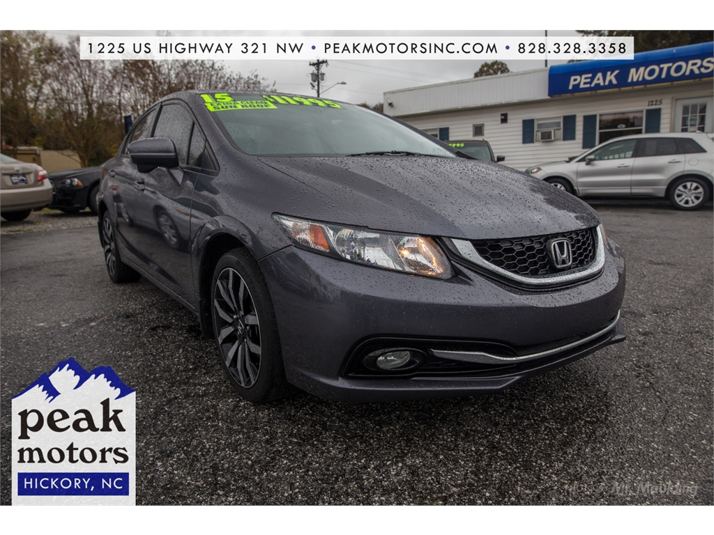 2015 Honda Civic EX-L for sale by dealer