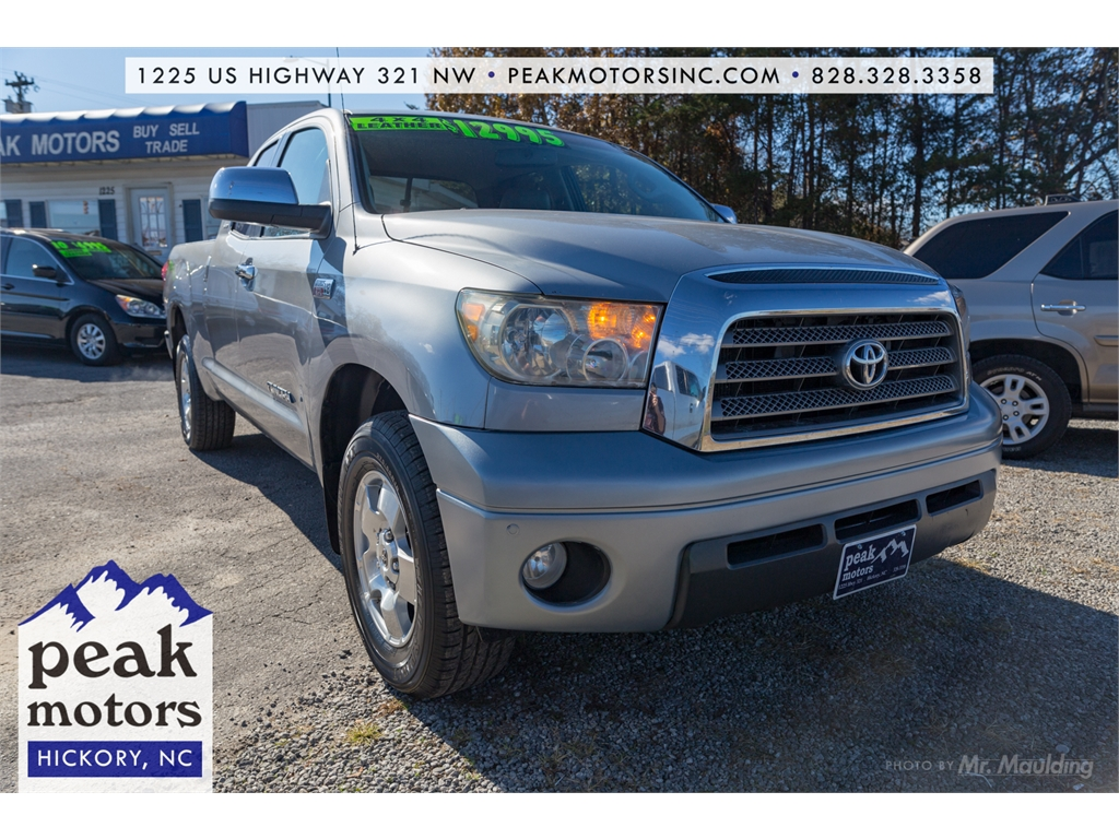 Tundra Double Cab >> 2007 Toyota Tundra Limited Double Cab Limited For Sale In Hickory