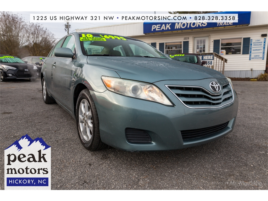 2010 toyota camry interior colors