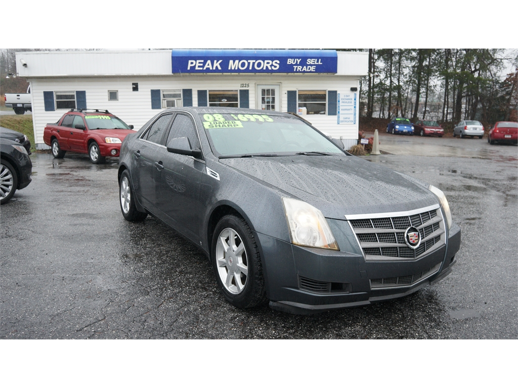 2008 Cadillac CTS 3 6L SIDI with Navigation in Hickory