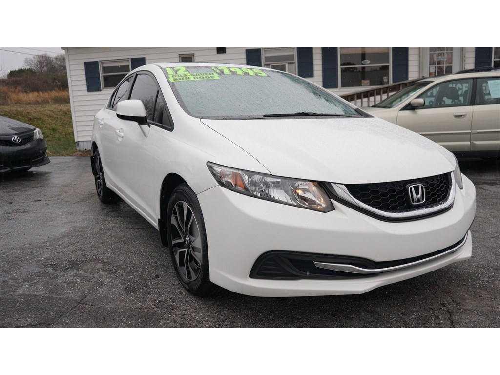 2013 Honda Civic EX Sedan 5-Speed AT for sale by dealer