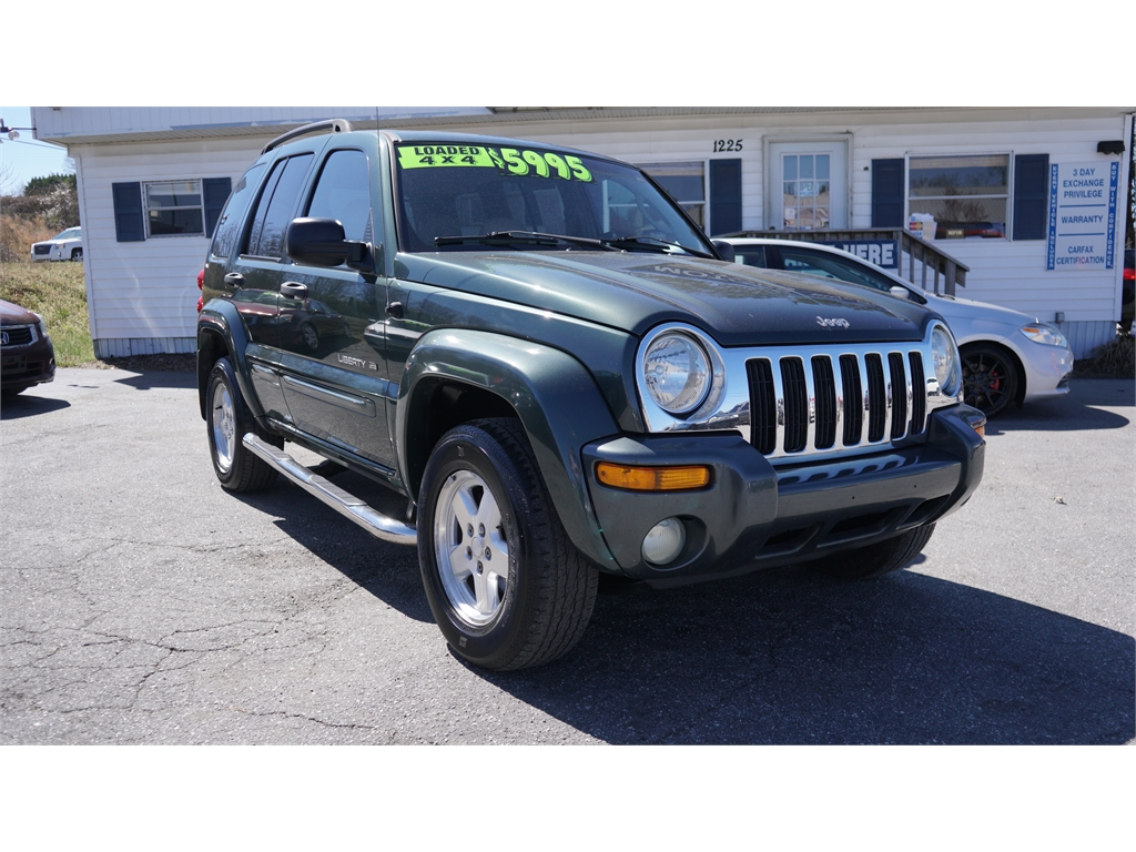 2002 Jeep Liberty Limited 4WD Hickory NC