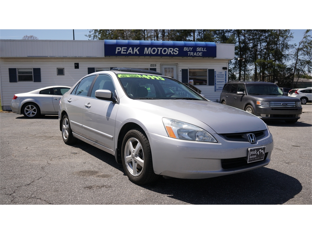 2003 Honda Accord EX-L for sale by dealer