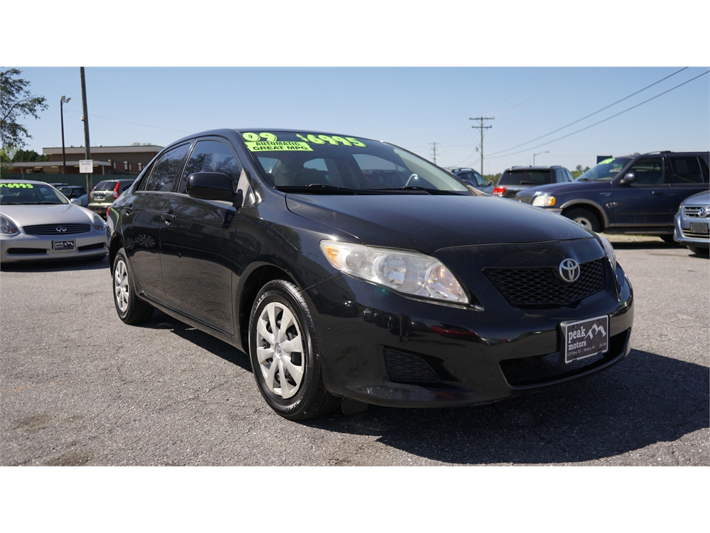 2009 Toyota Corolla LE 4-Speed AT Hickory NC