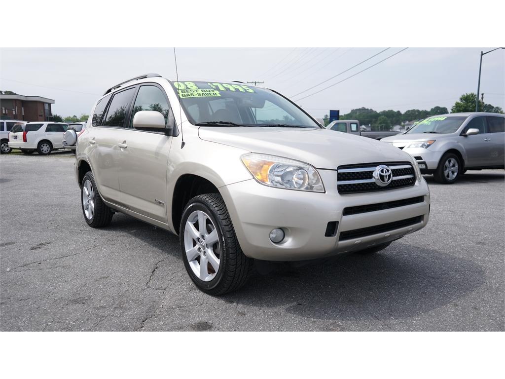 2008 Toyota RAV4 Limited I4 2WD Hickory NC