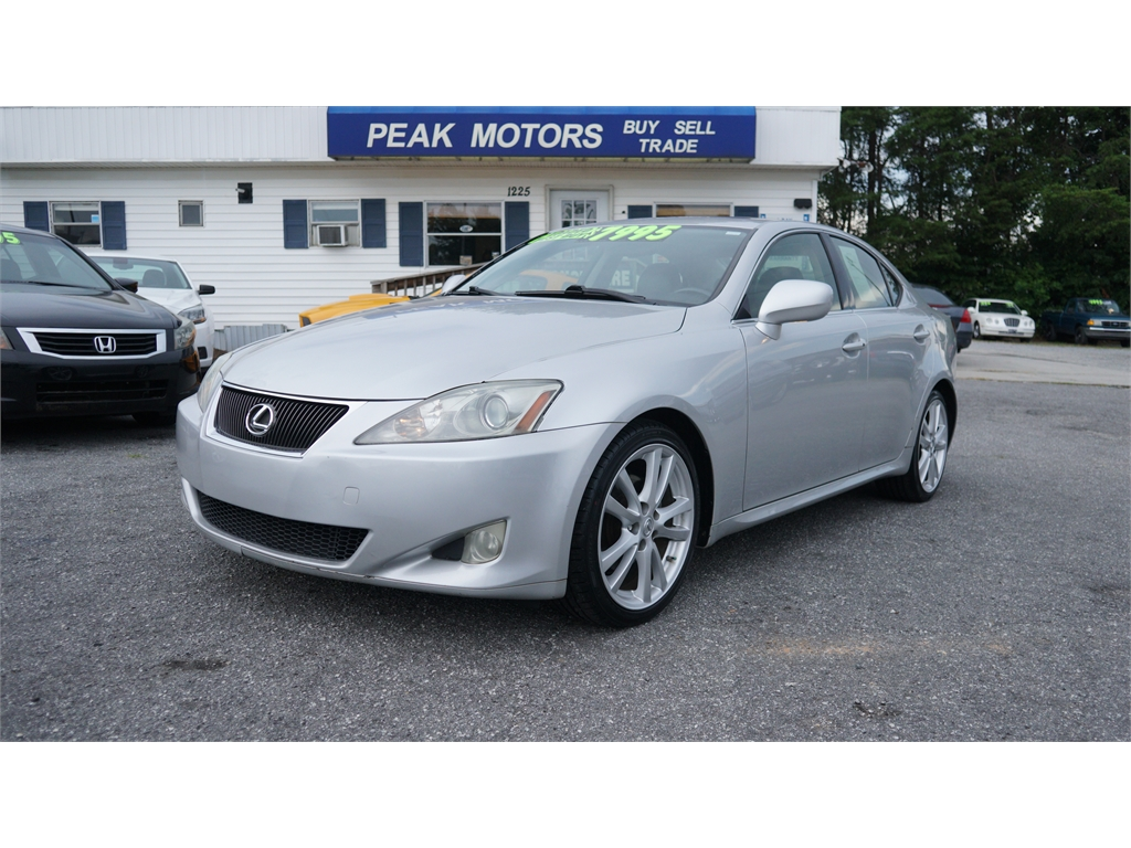 2007 Lexus IS 250  for sale by dealer